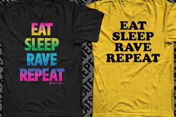 Eat Sleep Rave Tees