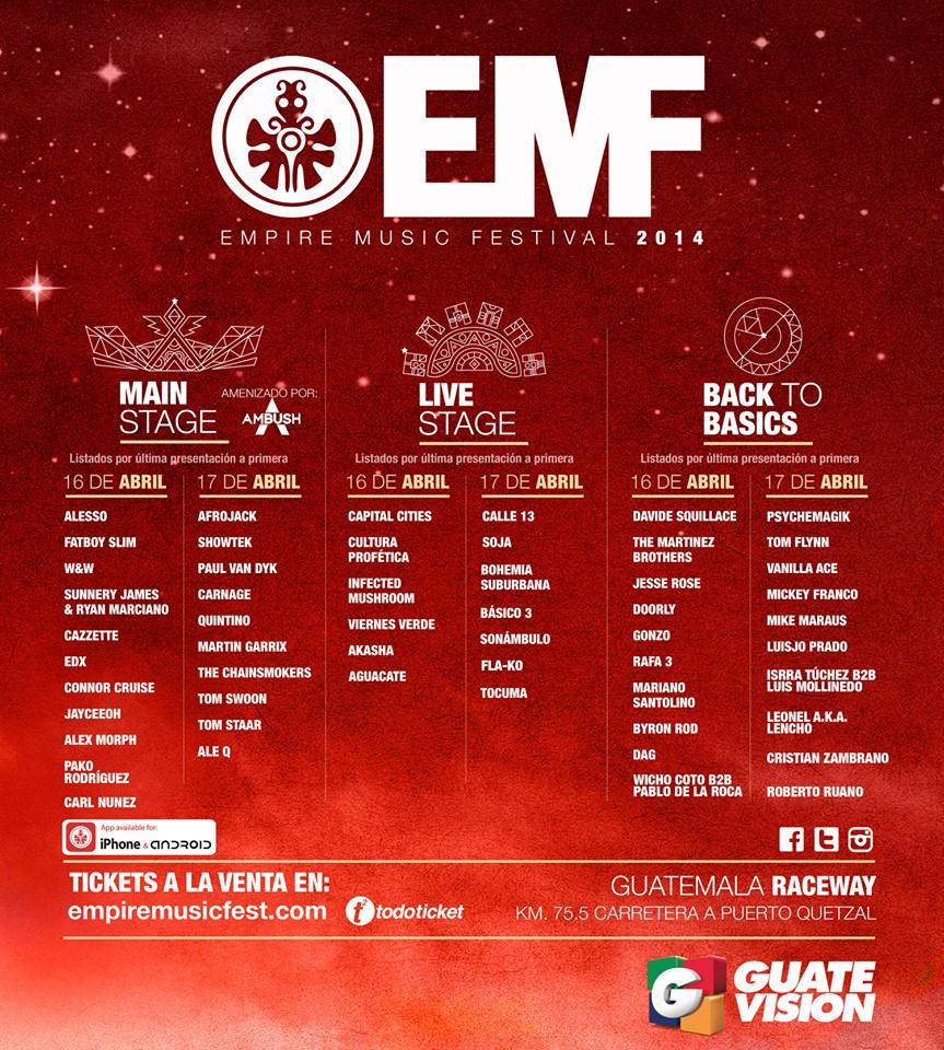 Empire Music Festival Guatemala Fatboy Slim