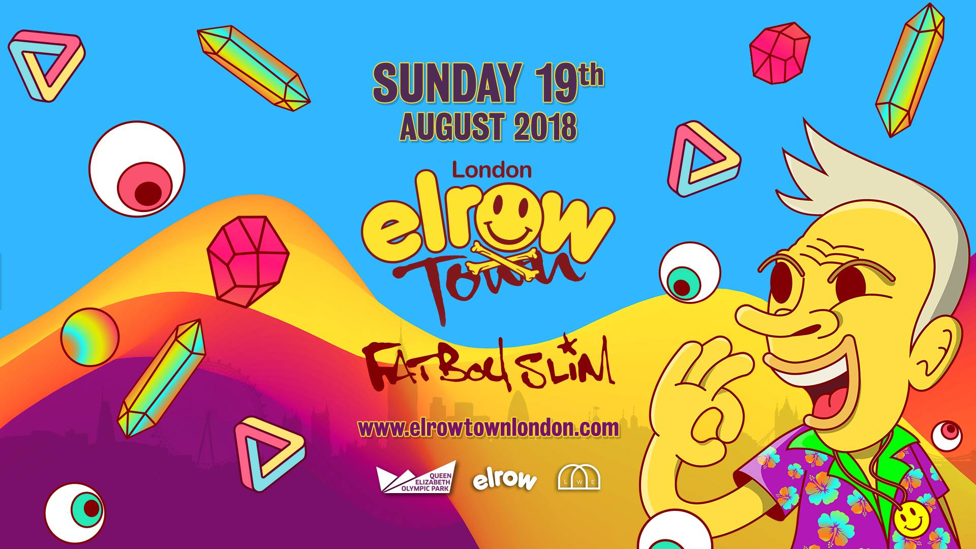 Gigs Image 1 for Elrow Town, London, United Kingdom